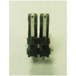 ".156"" (3.96mm) Locking Header - 2-PIN"