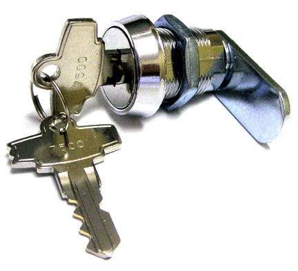 Free Play Coin Door Lock Double Bitted