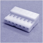 """.100"""" IDC 7-Position Connector For 22 Gauge Wire"""