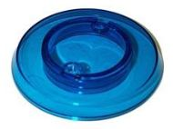 Bumper Cap - Light Blue Transparent