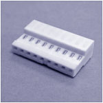 """.100"""" IDC 9-Position Connector For 22 Gauge Wire"""