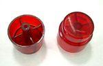 Bally/Gottlieb Flipper Button - Translucent Red