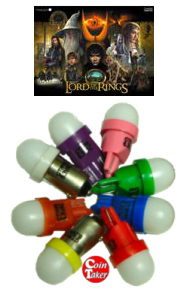 Komplett Super LED kit - Lord of the Rings (Stern)