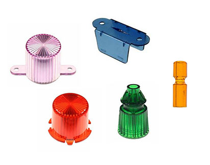 Plastic parts - Posts, lamp domes etc.