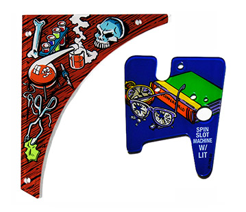Playfield Plastics