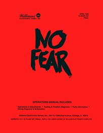 No Fear (Williams) - Manual