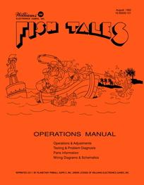 Fish Tales (Williams) - Manual