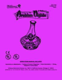 Tales of the Arabian Nights (Williams) - Manual