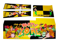 Party Zone- Cabinet Decals