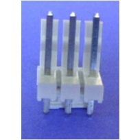 ".156"" (3.96mm) Locking Header - 3-PIN"