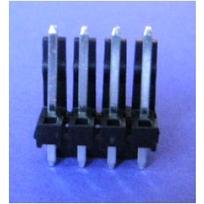 ".156"" (3.96mm) Locking Header - 4-PIN"