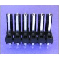 ".156"" (3.96mm) Locking Header - 6-PIN"