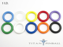 Titan Competition Silicone Rings 1""