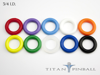 Titan Competition Silicone Rings 3/4""