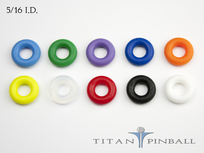 "Titan Competition Silicone Rings 5/16"" ID (23-6300)"