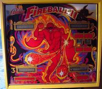 Fireball II - LED Backbox Kit