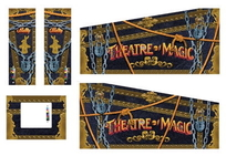 Theatre of Magic - Kabinettdekaler