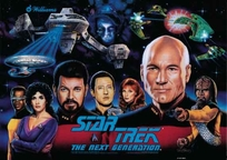 Star Trek: The Next Generation - Translite