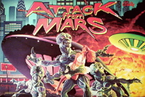 Attack From Mars - Translite