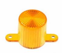 Plastic Light Dome, skruvfäste - Orange