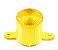 Plastic Light Dome, skruvfäste - Gul