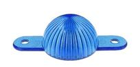 Plastic Mini Light Dome, skruvfäste - Blå