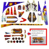 Medieval Madness - Komplett plastset INKLUSIVE BONUS-PLASTER