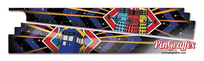 Doctor Who - PinBlades™ (Interior Panel Decal Set)