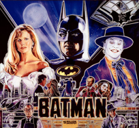 Batman (Data East) - LED Backbox Kit