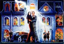 The Addams Family - LED Backbox Kit