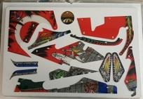 Grand Lizard - Komplett plastset