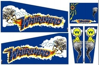 Whirlwind - Cabinet Decals