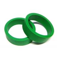 Flippergummi, grönt