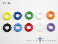 "Titan Competition Silicone Rings 3/8"" ID"