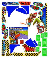 Road Show - Komplett plastset