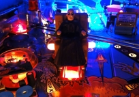 The Addams Family - Chair Kickout Hole Light Mod RED