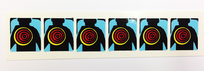 Lethal Weapon 3 - Target Decals (6 pcs)