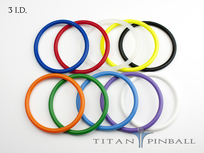 Titan Competition Silicone Rings 3""