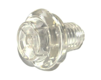 Flipper Button - Translucent Clear