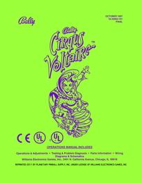 Cirqus Voltaire (Bally) - Manual