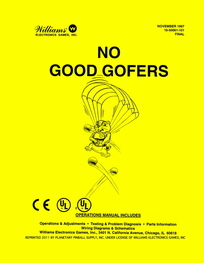 No Good Gofers (Williams) - Manual