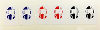 Vector - Target Decal Set (6 pcs)