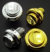 Flipper Button - Gold/Krom