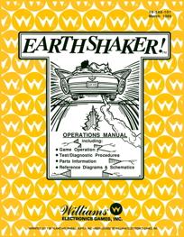 Earthshaker (Bally) - Manual