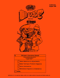 Dr Dude (Bally) - Manual