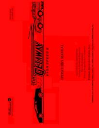 Getaway (Williams) - Manual