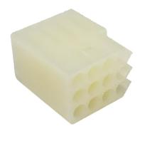 "Molex .093"" 12 Position Cube Connector Housing"