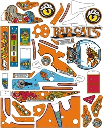 Bad Cats - Komplett plastset