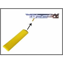 Yellow Handle Sleeve For Lockdown Bar Lever Guide - Williams/Bally