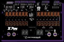 LED Display XP-WMS11415 för F14 Tomcat - ORANGE